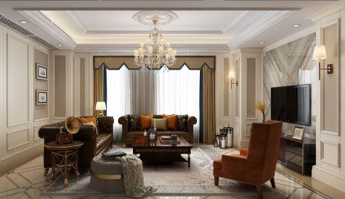 家的幸福港湾 温州美式风格三房装修设计