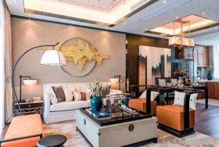 126平打造新中式四居室美家