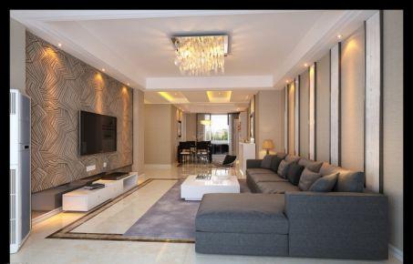 郑州简约风格三房装修设计效果图