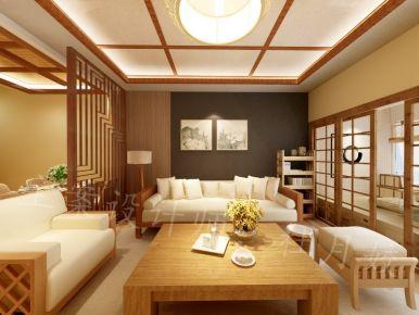 乌鲁木齐日式风格三房装修效果图 锦绣年华