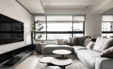 鸿声    现代风格三房装修设计-无锡鸿运苑小区
