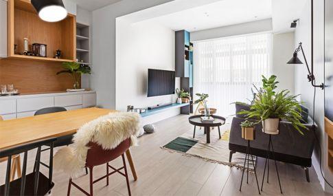 滴水涟漪 欧式风格两房装修设计-无锡观山名筑