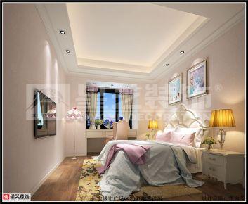 东莞恒宝城市广场 中式风格三房装修效果图