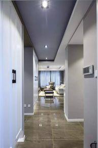 东莞现代风格三房装修效果图 园洲花园小区