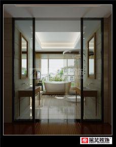 东莞湖畔新城别墅装修 现代风格别墅装修设计