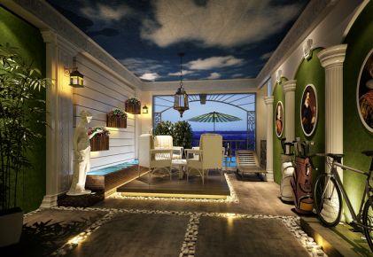 东莞紫檀山  中式风格三房装修设计效果图