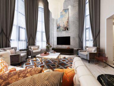 设计-现代美式风格别墅装修