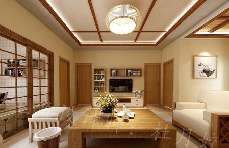 东莞日式风格四房装修设计效果图