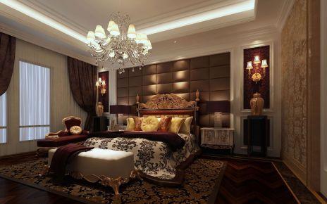 无锡融创天鹅湖 中式风格家庭装修设计效果图大全