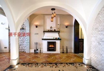 地中海风格别墅装修设计案例 无锡太湖国际