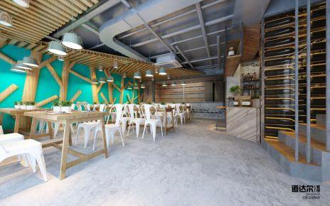 【常州餐厅设计】工业风餐厅设计,最新装修案例