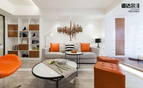 【星河国际】摩登现代简约两居室,最新装修案例