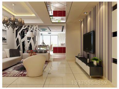 青岛装修:海尔时代广场公寓现代简约风格