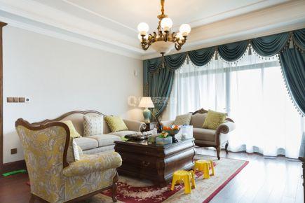 重庆金科公园王府三室|美式风格|装修实景图