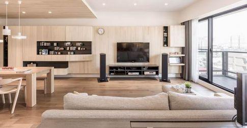 长沙北欧现代风格三居室装修设计