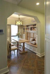 长沙105平美式风格三房装修设计
