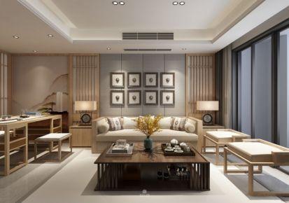 180㎡ 新中式风格四居室装修