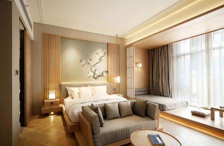 日式风格三居室装修设计