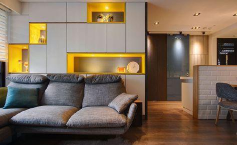 现代简约两居室装修设计欣赏
