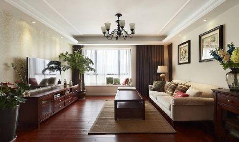 长沙美式风格大三居装修设计