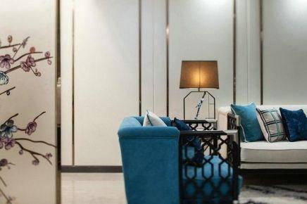 长沙新中式风格三居室装修设计