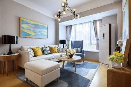 多彩简约两居室装修设计欣赏