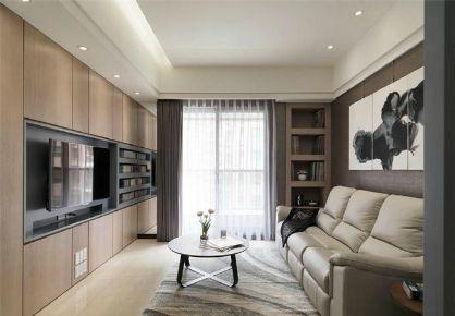 126m²简约现代风公寓装修
