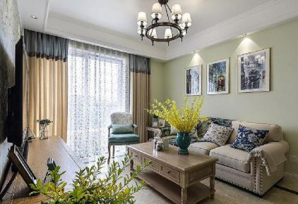 现代简美小三居装修设计欣赏