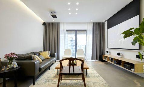 长沙八方小区 现代风格三房装修效果图