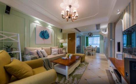 绵阳文泉尚座--美式风格三居室装修设计