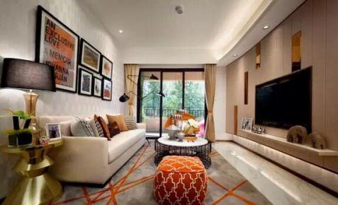 绵阳尚高锦都--现代简约三房设计效果图欣赏