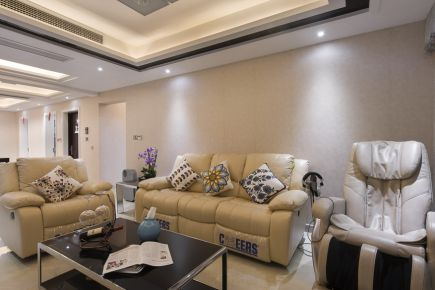 常熟古里镇紫霞花园现代风格家庭装修效果图