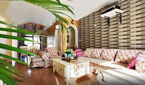 绵阳时代天骄--田园风格三居室装修设计