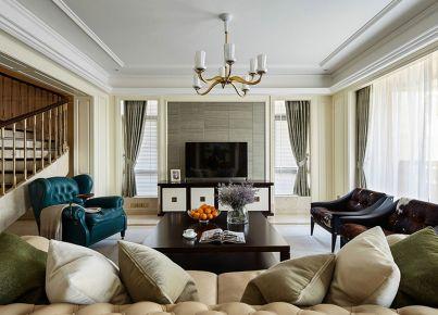 绵阳美式风格家庭装修设计 | 香榭丽大道