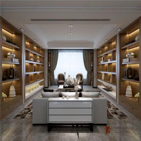 北京水木兰亭 160平米港式风格四房装修效果图