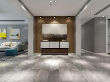 龙发装饰公司亚建业海马九如府218平米四室两厅装修效果图