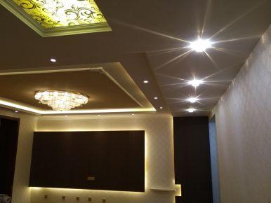 咸阳彩虹新苑 创意混搭三居室装修设计效果图