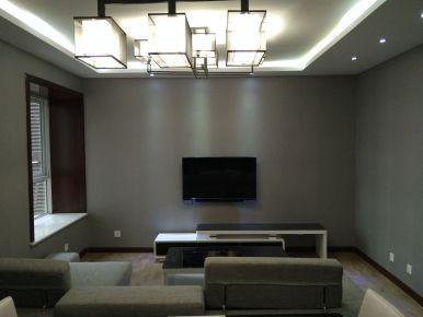 咸阳三普 现代风格二居室家庭装修设计效果图欣赏