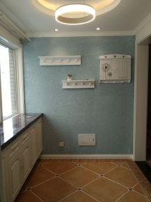 西安田园风格三居室装修设计效果图 西安罗马景福城