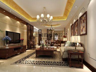 成都欧香小镇新中式风格平层装修设计案例