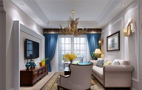 青岛装修:星海城简美风格家庭装修设计分享