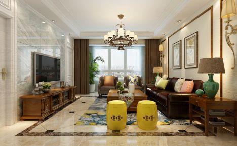 长沙现代风格三房装修设计效果图 南城印象