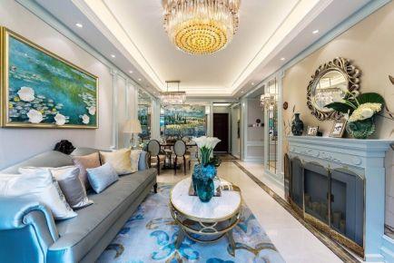 长沙欧式风格三房装修设计欣赏 荣盛花语城小区
