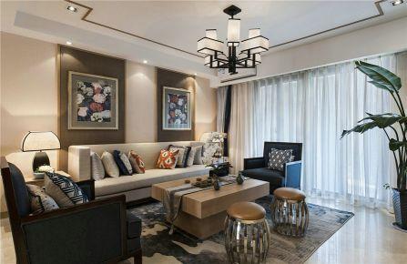 长沙深业睿城 中式风格三居室装修设计