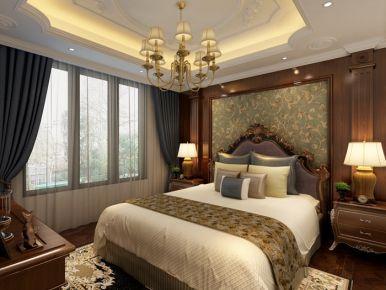 成都南湖国际 简欧风格四房装修设计效果图