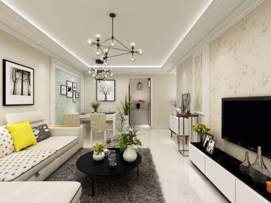 成都怡湖玫瑰苑 欧式风格三房装修设计欣赏