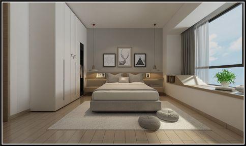成都涟岸花园日式风格三房装修设计效果图