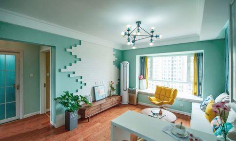 成都成功红树林 现代简约风格三房装修设计