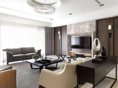 成都后現代時尚風三房裝修設計欣賞  綠地468小區