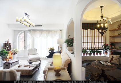 成都浪漫地中海家庭装修设计 长城半岛城邦